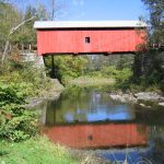 The Slaughterhouse Covered Bridge, Vermont