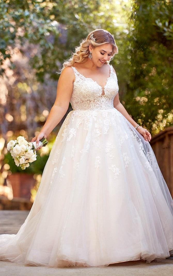 Nyb Co Celebrates Plus Size Wedding Dress Style