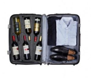 VinGardeValise - Wine Travel Suitcase