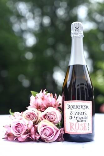 Best Sparkling Rosé - Roederer Starck Champagne Nature Rosé