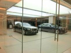 Car Show Room at Siam Paragon