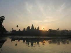 And finally the sun popped out of the temple