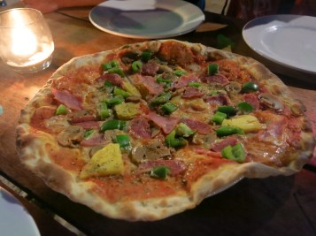 Wood oven pizza at Koh Lanta restaurant & guesthouse (កូឡង់តា), Koh Rong