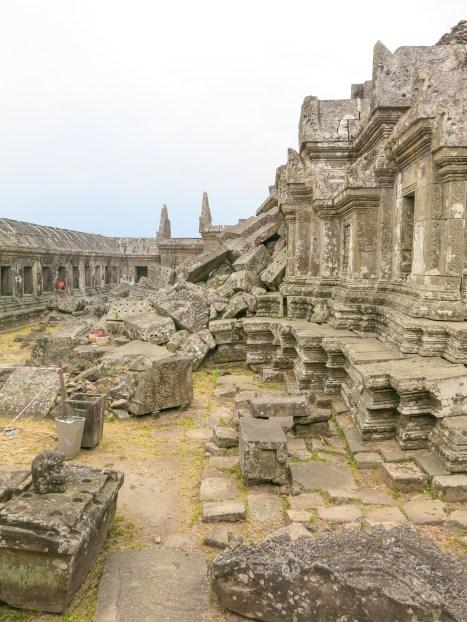 Massive ruined stones