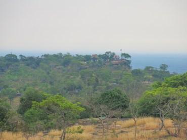 Ta Mok house where now is Thai territory