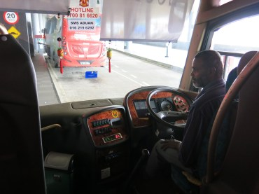 Our Indian bus driver - KLIA2