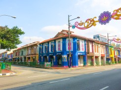 House and shops at Little India