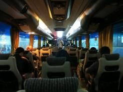 Night bus (Melaka-KL)