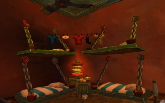 Beds in goblin house