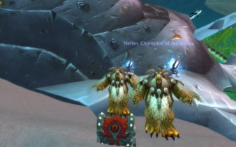 Moonkin and Horde chest