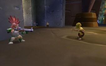 Gnomeregan Gnome shooting lepergnome