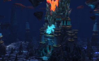Deepholm - World Pillar shattered