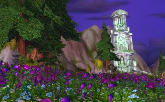 Mount Hyjal flowers