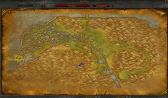 Map of Wetlands in TBC
