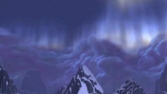 Aurora in Storm Peaks