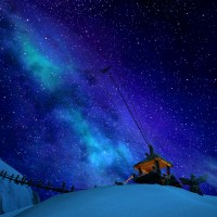 Highmountain by night