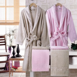 Royal Bathrobe set with Towels