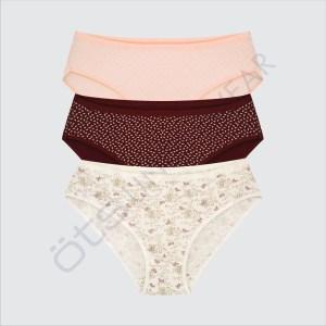 Lady Bikini, 96% Cotton & 4% Elastane
