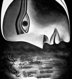 Safwan Dahoul - Dream 67, 180x200 cm, acrylic on canvas, 2014