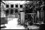 Syrian artist Fadi Yazigi's studio, Bab Touma, Damascus, Syria, May 2010. Photo credit Eman Haram