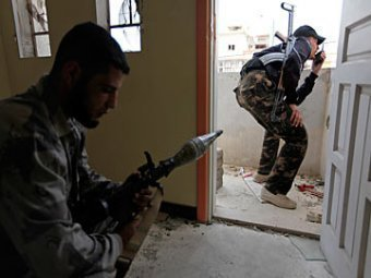 Syria fighting terrorists