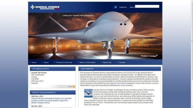 General Atomics Aeronautical Systems UK Ltd