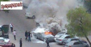 Car detonated in Mazzeh residential neighborhood (File Foto)