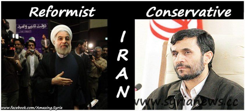 Hassan Rowhani – Mahmoud Ahmadinejad