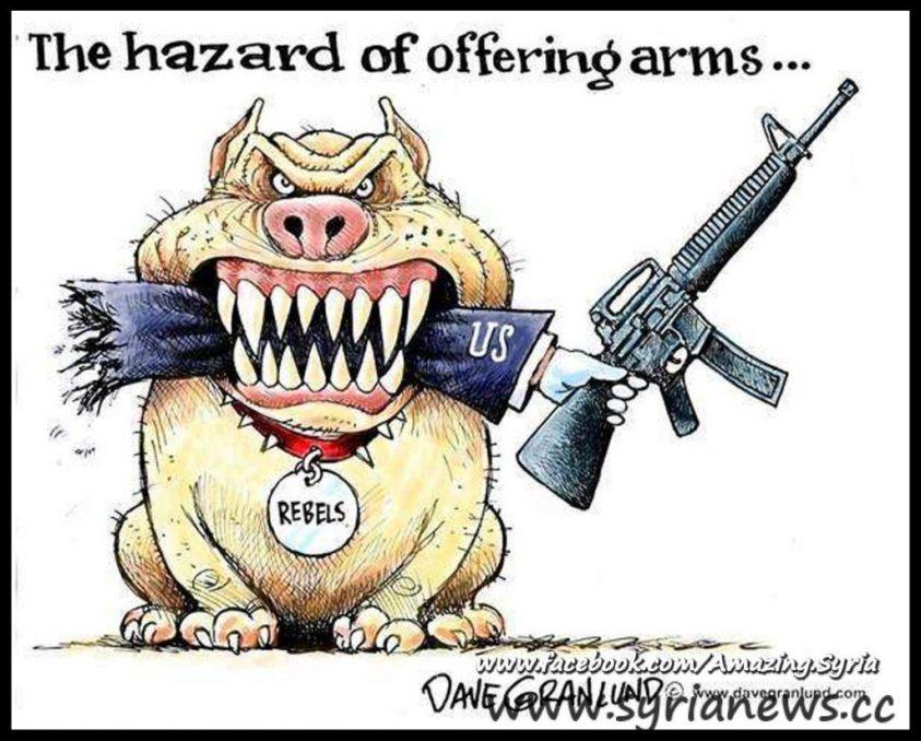 The hazard of arming terrorists
