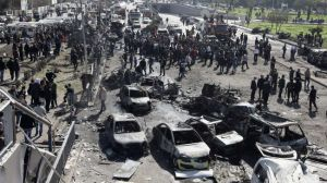 Bomb attack in Damascus