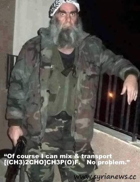 Cannibal Wahhabi Sex Jihadist Will Mix Chemical Agents