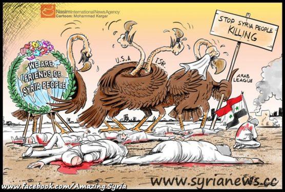 Frenimies of Syria: Enemies disguising as Friends