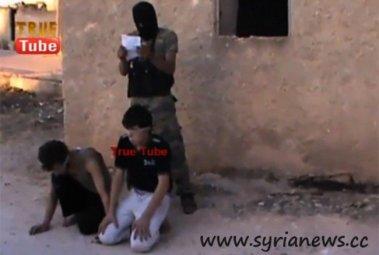 Syria: Liquidation of Boys by US-backed terrorists.