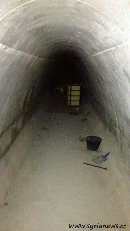 The terrorist tunnel in Yebroud