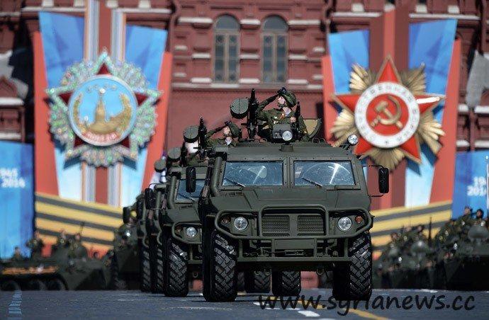 Военный парад, посвященный 69-й годовщине Победы в Великой Отечественной войне