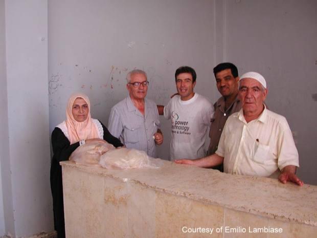 Archeologist Khaled Asaad Palmyra