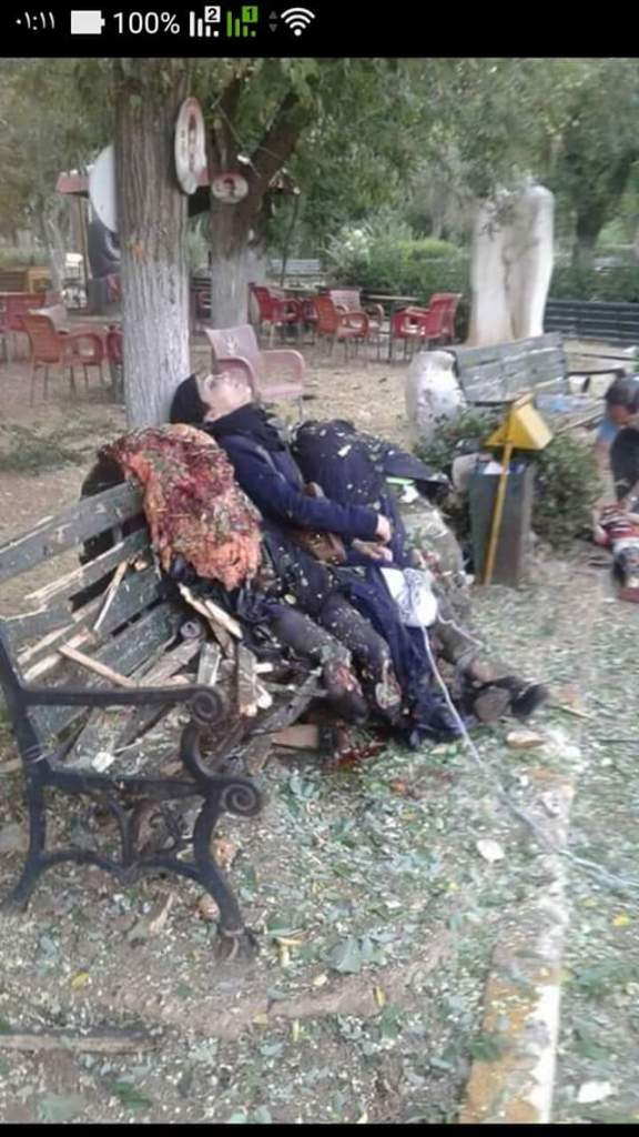 femicide- An afternoon in the park was interrupted by moderate mortars. These 2 (or 3) Syrians women were among 8 murdered in Sebil Park, 22 July.