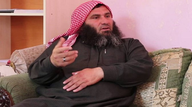 Tawfir Shahabuddin, 'spiritual leader' of al Zinki child beheaders. Despite draconian sanctions and destruction of Syrian infrastructure, the terrorists tend to be overweight.