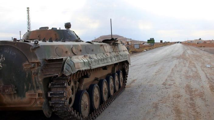 Syrian Arab Army Vehicle