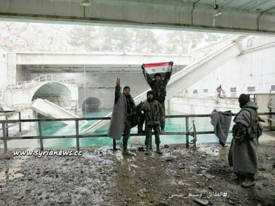 image-Fijah Water Spring Repairs Under Way after Cleaning the Area from Moderate Terrorists