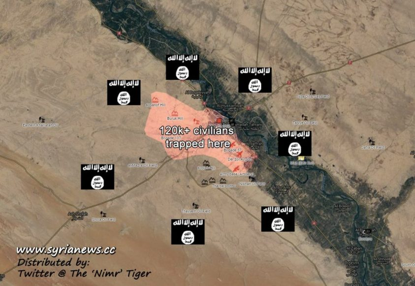 image-SAA Repels Largest ISIS Offensive in Der Ezzor