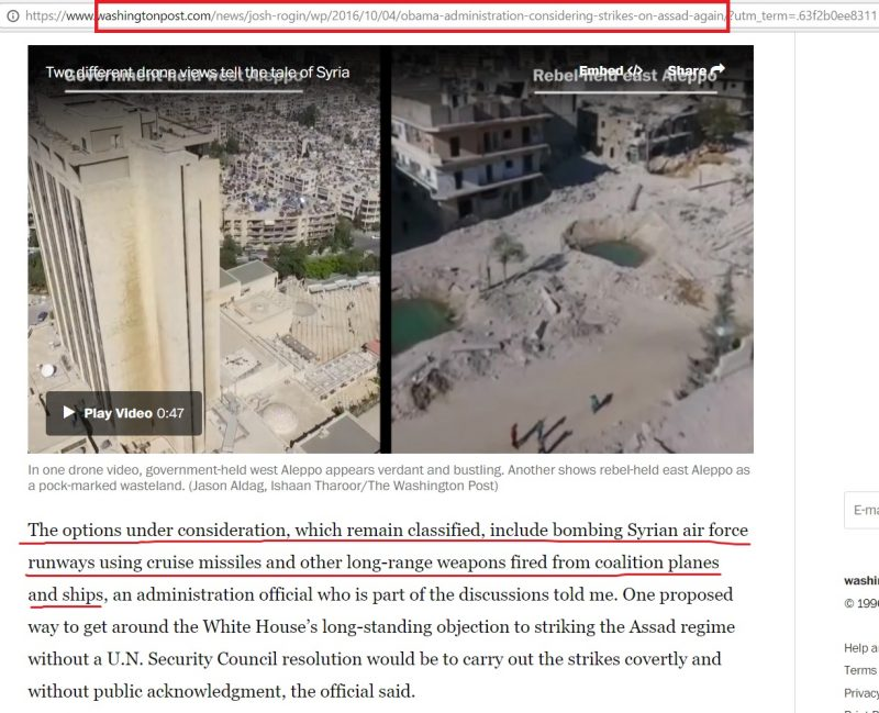 image-Trump carried out the plan set by the regime of Obama, and it's a long sought goal against Syria