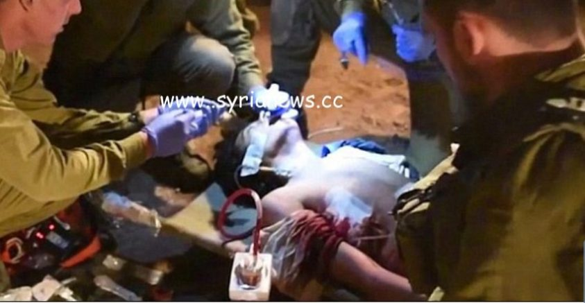Israel helps ISIS terrorist on the occupied Golan.