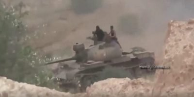 image-SAA Syrian Arab Army Battles with ISIS and Nusra Front in Daraa and in the north