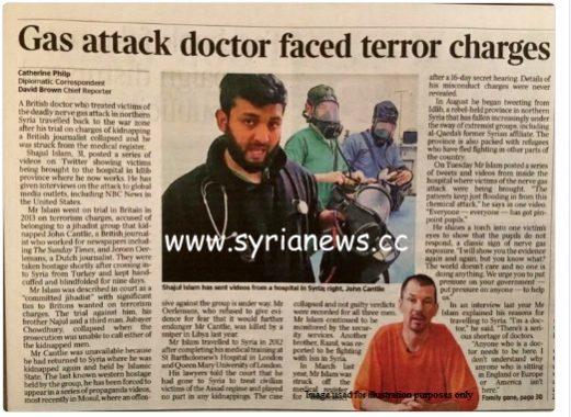 OPCW won't go near the terrorist but will source him