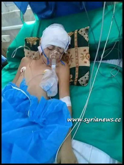 Mikdad Yousef - Injured by Terrorists Shelling of Al Qardahah