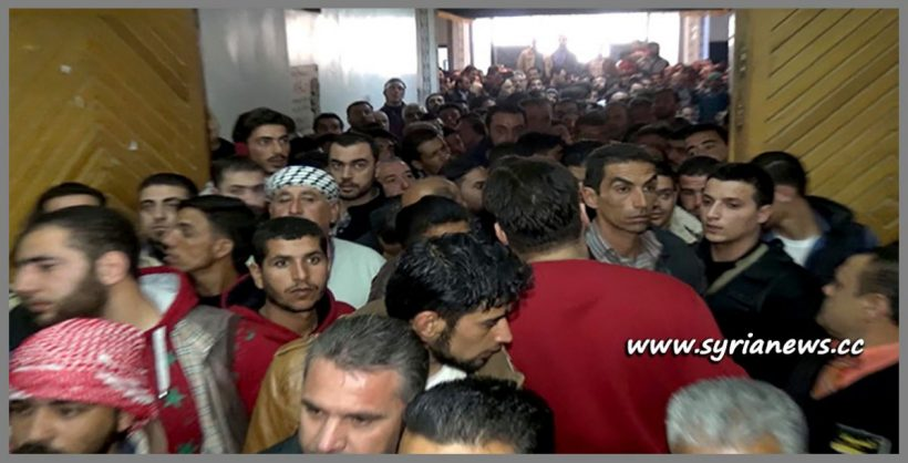 image-Thousands join SAA Ranks in al-Keswa-Damascus Countryside