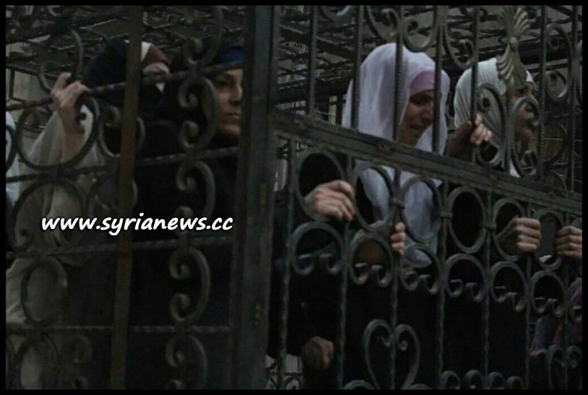 femicide Saudi-Sponsored Jaysh al-Islam Drove Women and Children in Cages