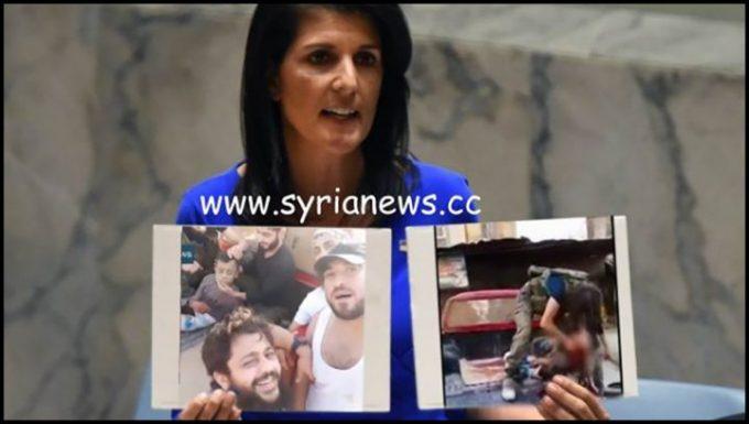image-Trump Regime Ambassador to the UN Nikki Haley - False Flag