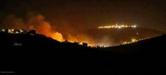 image-Israel Attacks Syria SAA Retaliates